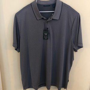 NWT Perry Ellis Travel Luxe Polo w/50 UPF Size 2X